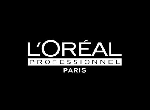 L'Oreal Professionnel Logo Zwart Wit